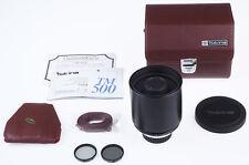 Tokina TM 8,0 / 500mm 500 mm Spiegelobjektiv SUPERTELE für Nikon * N550
