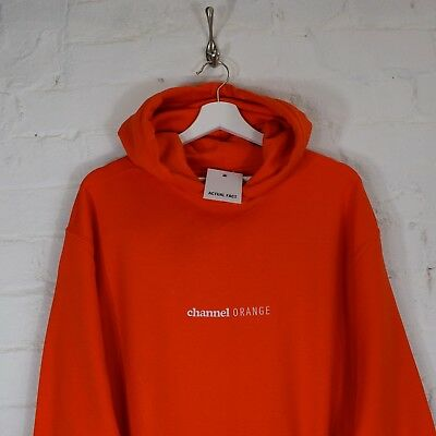 Frank Ocean Embroidered Channel Orange Hip Hop easy orange Sweatshirt Top by AF