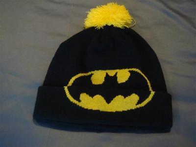 Affidabile Ragazzi Prossimi Batman Bobble Cappello Età 14/16 Anni-mostra Il Titolo Originale