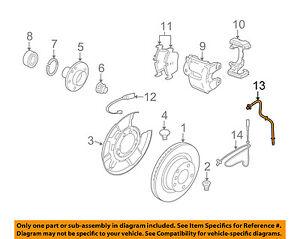 BMW-OEM-07-13-335i-ABS-Anti-lock-Brakes-Rear-Speed-Sensor-34526870077