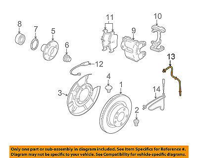BMW E91 E92 328i M3 E82 135i ABS Wheel Speed Sensor Set x2 ATE 24071152803 NEW