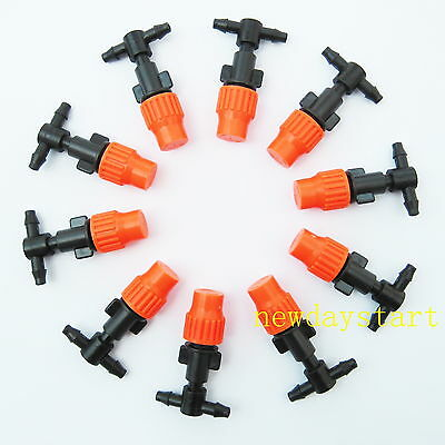 10pcs Greenhouse Flower Plant Garden Misting plastic atomizing sprinkler Nozzles