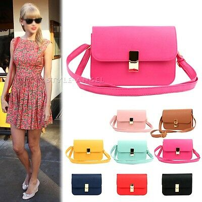New Women Shoulder Bag Handbag Ladies Messenger Cross Body Bag Hot Fashion Purse