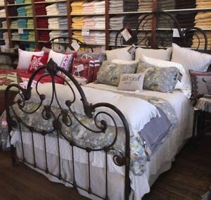 Original Mike Igarta Iron Bed Frame King Hand Made In
