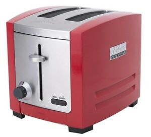 Sunbeam-TA9205R-Cafe-Series-2-Slice-Toaster-Red-RRP-149-00