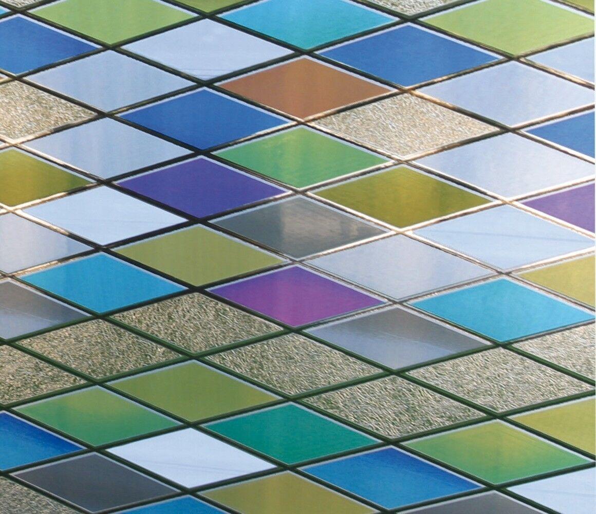 Linea Fix statica pellicola decorativa pellicola per finestra colonia selezione dimensione Vetro Pellicola Decorativa
