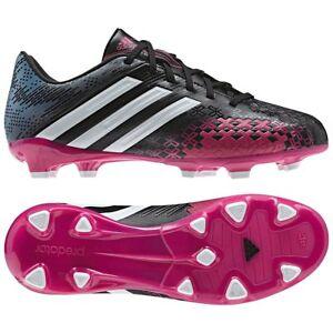 Adidas predator absolado lz trx fg nero, rosa gli scarpini da calcio giovanile