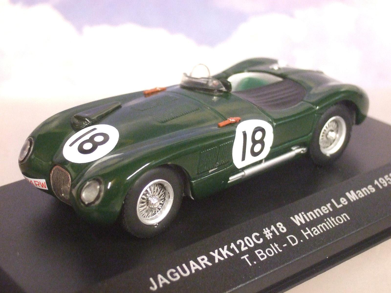Ixo 1/43 Jaguar Xk120c Xk120  18 Gewinner 1st Le Mans 1953 Rolt/Hamilton Lm1953