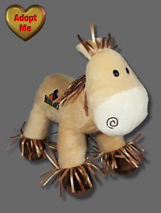 Fiesta Cedar Point Maverick Roller Coaster Stuffed Plush Cream Horse Pony Animal