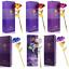 Rose-Eternelle-Petales-Plaque-Or-24K-Fleur-Artificielle-Seche-Boite-Cadeaux-Noel miniature 1