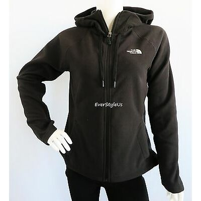 THE NORTH FACE Women's Tundra Black Fleece Hoodie Jacket 100 WT MSRP $70