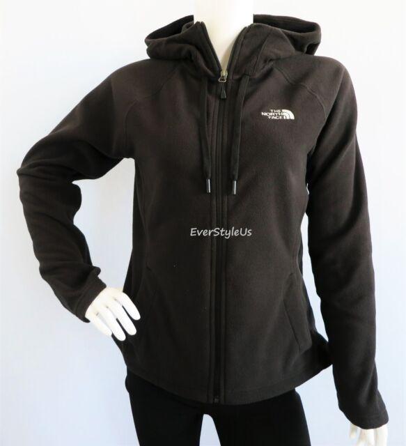 THE NORTH FACE Women's Tundra Black Fleece Hoodie Jacket 100 WT MSRP $70 sz S-XL