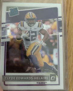 2020 Panini Optic Rated Rookie Clyde Edwards-Helaire RC - CHIEFS! - Chronicles