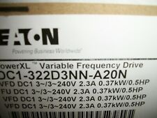 New Listingeaton Dc1 322d3nn A20n Power Xl Variable Frequency Drive New
