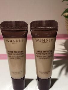 Wander Beauty Nude Illusion Liquid Foundation in Rich Deep