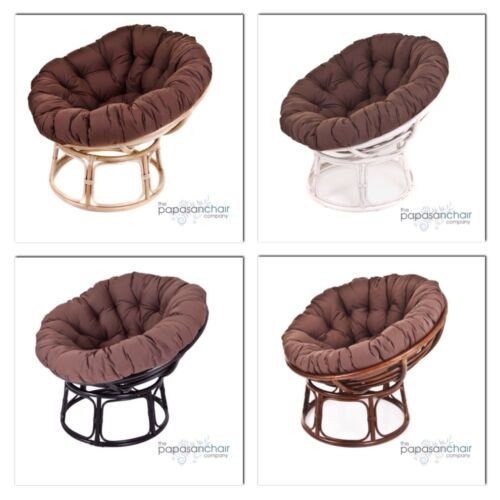 Rattan Conservatory Bowl Garden Furniture NEW Brown Papasan Chair