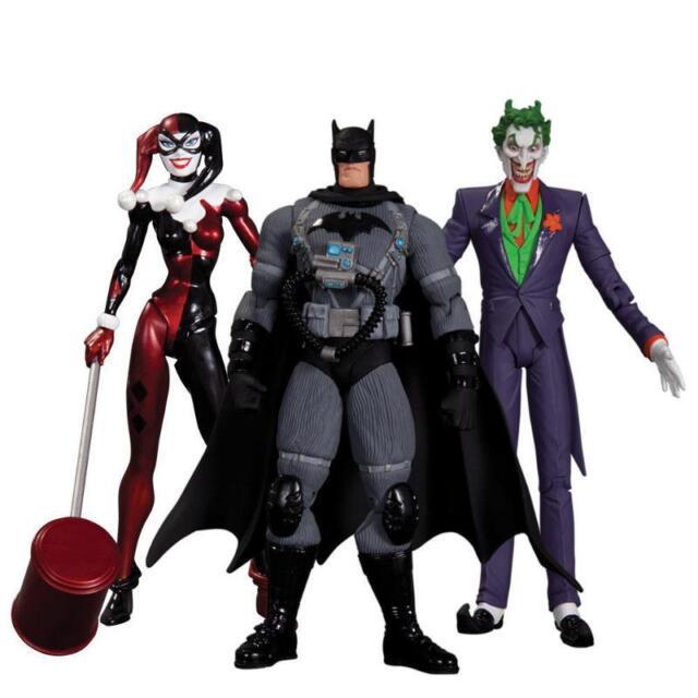 Dc Collectibles Batman Hush Joker Harley Quinn Stealth Batman 3 Figure Pack For Sale Online Ebay