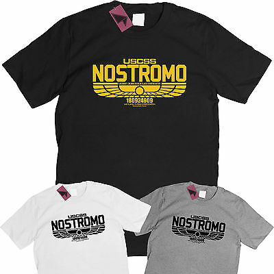 ALIEN NOSTROMO WEYLAND YUTANI CORP T-shirt   Up to 5XLarge  FREE UK POST