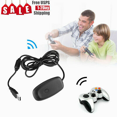 video game NEW PC Wireless Controller Gaming Receiver Adapter For Microsoft XBOX 360