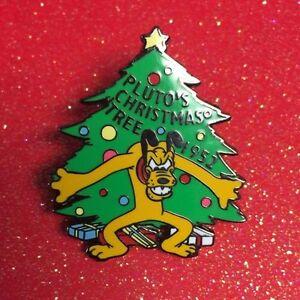 Plutos Christmas Tree.Disney Pins 100 Years Of Dreams 86 Pluto S Christmas Tree