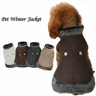 Hot Sale Pet Dog Jacket Winter Warm Coat Puppy Windproof Cloth Apparel Costume