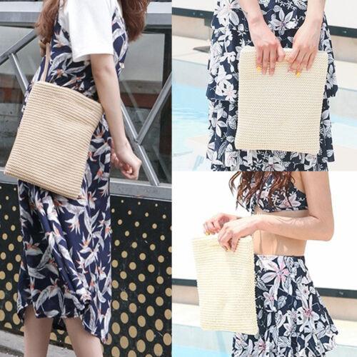 Korea Fashion Women BSCS Handy Mini Bag Tote Cross Body Handbags Summer Beach