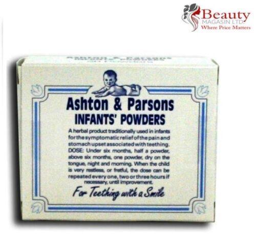 20 Sachets Available Multi-PACK Ashton /& Parsons Infant Powders For Teething