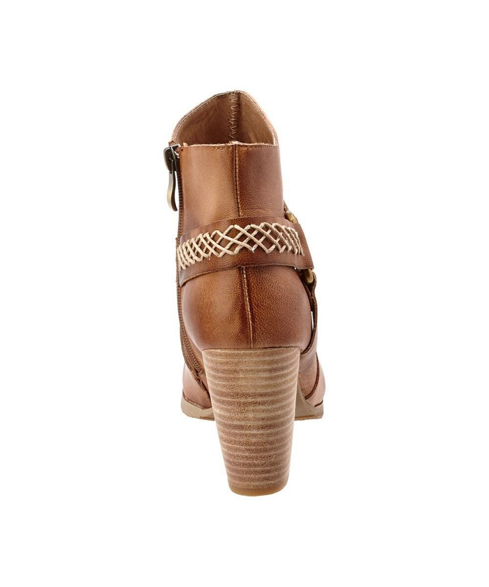 ANTELOPE chaussures 732 HARNESS démarrageIES ANKLE démarrage NEW NEW NEW NIB  249 39 TAUPE LEATHER BOHO 9006c4