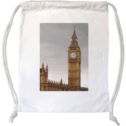 "/""Big Ben Londres/"" avec cordon de serrage Sac De Gym//Sac DB00004443"