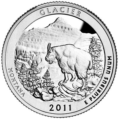 2011 Olympic National Park Silver Proof Quarter Gem DCAM