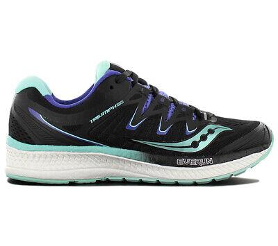 Saucony Triumph Iso 4 Damen Laufschuhe Schwarz S10413-4 Running Jogging Schuhe Niedriger Preis