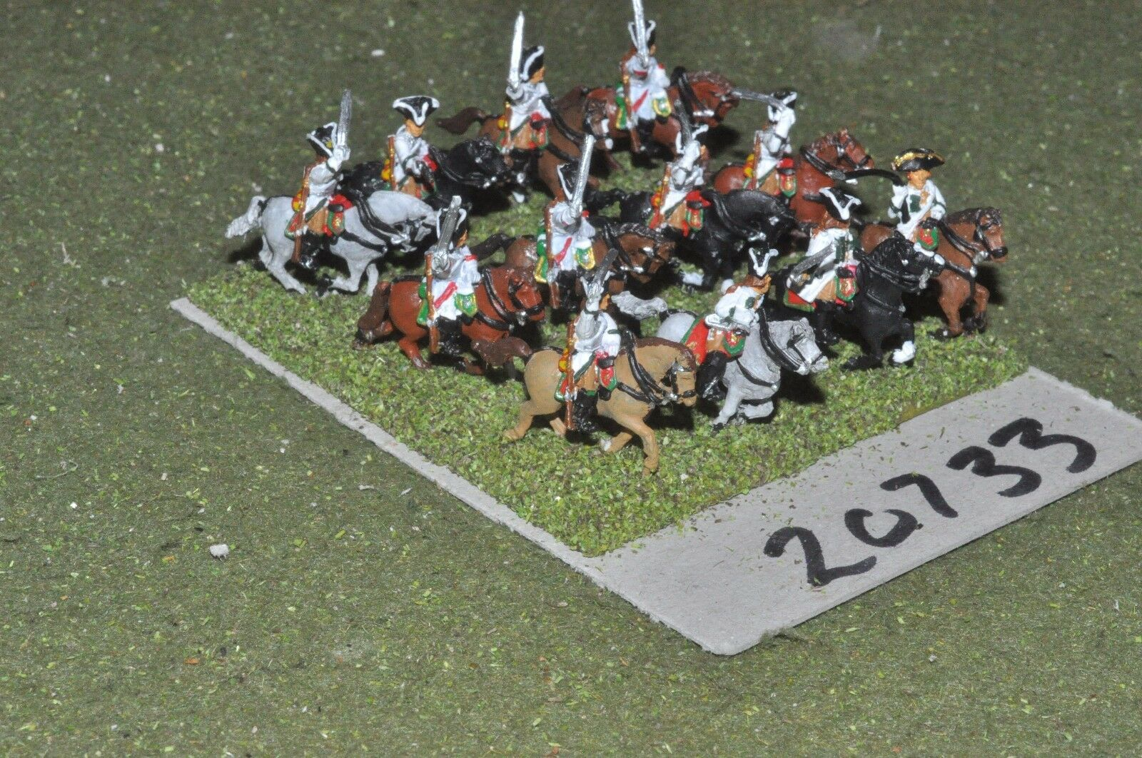 15mm 7YW   french - seven years war cavalry 12 cavalry  - cav (20733)