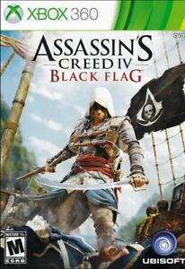 ASSASSIN-039-S-CREED-IV-BLACK-FLAG-SPECIAL-EDITION-JEUX-XBOX-360-NO-MANUAL