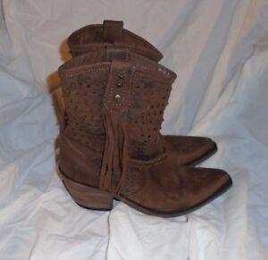 cf37879f869 Liberty Black LB711210 Vegas T-Moro Fringe Pointed Toe Boots Size ...