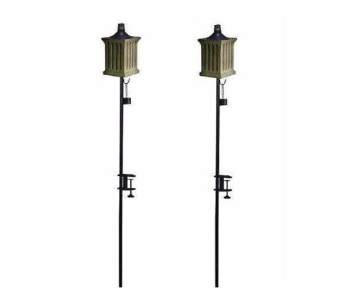 Refillable Tiki Torches Oil Lantern ~ Pest Control ~ New