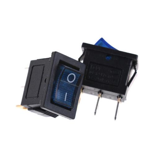 2Pcs Led Rectangle Rocker Switch Power Supply Switch 21*15Mm PE