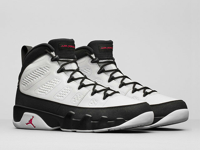 Nike Air Jordan 9 Retro OG Space Jam Size 7-15 White True Red Nero 302370-112