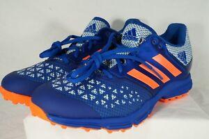 416a1a8c5b50 Adidas Zone Dox Hockey Shoe Blue Orange Trainers Cleats AQ6520 Men s ...