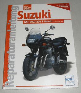 Reparaturanlei<wbr/>tung Suzuki GSF 600 / 1200 S Bandit – ab Modelljahr 1995