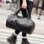 US-Men-039-s-Large-Travel-Duffle-Gym-PU-Leather-Roll-Luggage-Shoulder-Handbag-Bag thumbnail 2