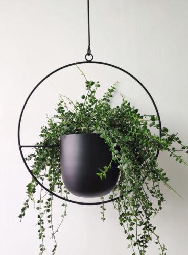 Boho Metal Plant Hanger,Modern Wall  Ceiling Hanging Planter Plant Holder Decor