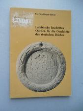 Lateinische Inschriften Quellen für die Geschichte des römischen Reiches 1982