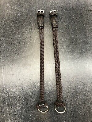 """Rope Gag Cheeks 5//8/"""" Handmade in England Brown"""