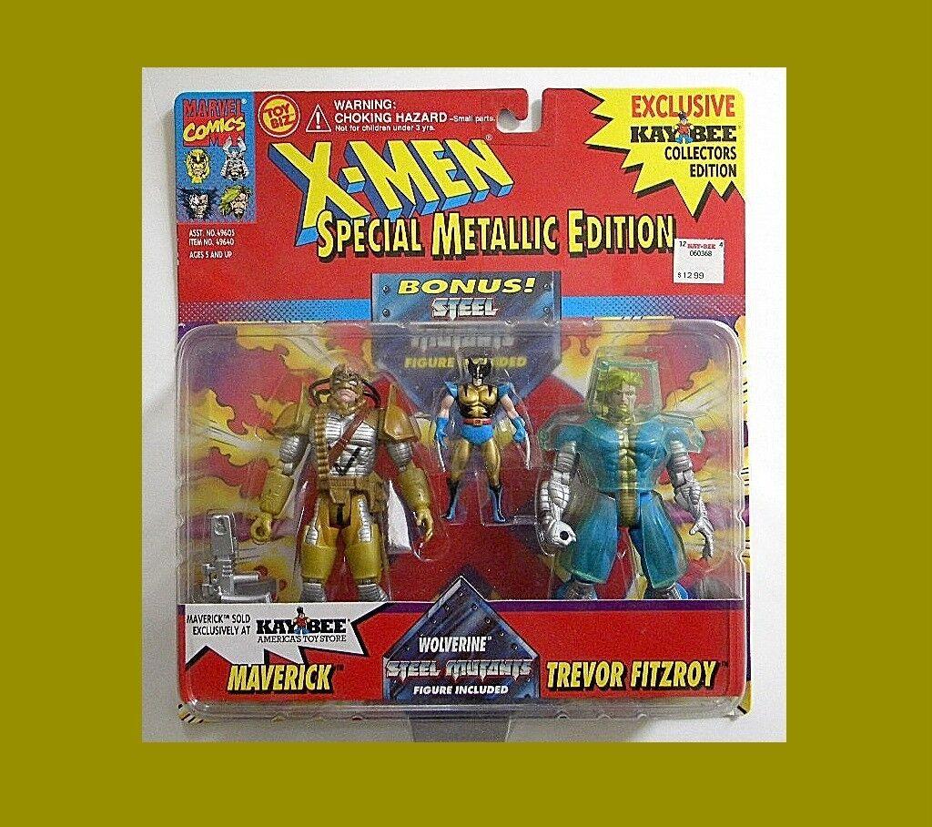 X-MEN MAVRICK & FITROY 2-PACK FROM TOY-BIZ MOC RARE