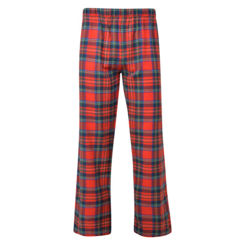 Da Uomo Pigiama Bottoms Ex Store tartan stampa cotone spazzolato Lounge Pantaloni PJ S-XXL