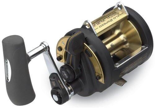 Shimano Tld 50 lrsa 2 Velocidades Carrete De Pesca de la palanca de arrastre tld-50iilrsa tld50iilrsa