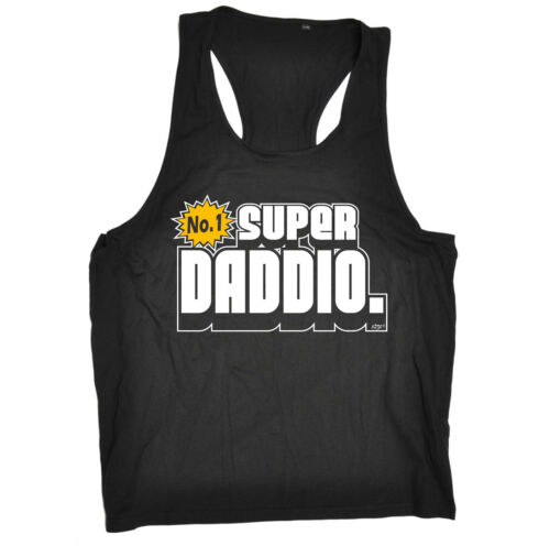 Super Daddio Retro Gaming 64 Birthday Joke Humour Gift Novelty TANK TOP