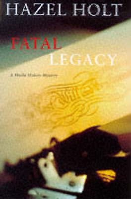 """VERY GOOD"" A Fatal Legacy (A Sheila Malory mystery), Holt, Hazel, Book"