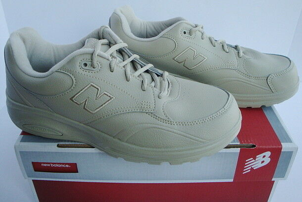 New Balance Walking Athletic Sneaker shoes Beige Bone Lace Up Men's New 7.5 2E