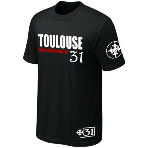 Maillot ★★★★★★ T-Shirt TOULOUSE RUGBY SUPPORTER